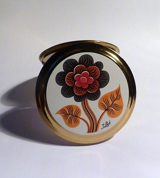 1970s Gifts For Her Retro Purse Mirrors Floral