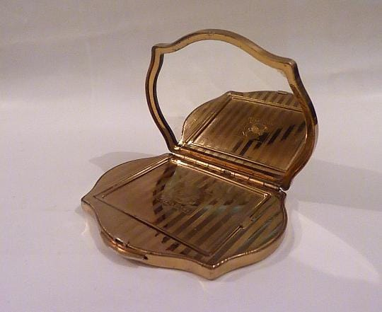 Rare Stratton Regency powder compact - The Vintage Compact Shop