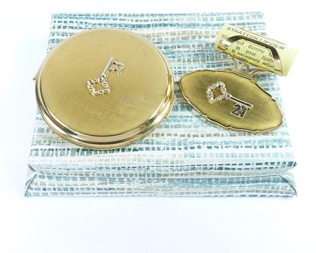 21st Birthday Compact Mirror Vanity Set