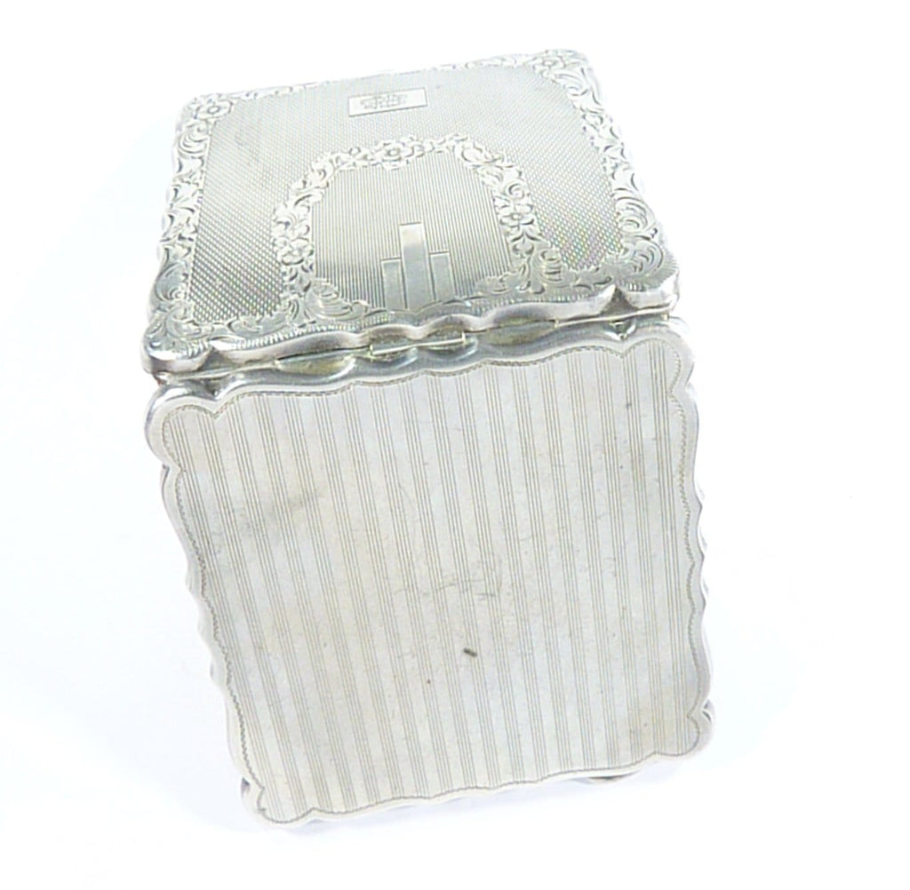 900 Antique Silver Compact