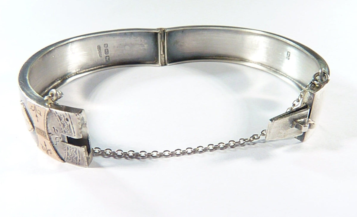 Antique Hallmarked Silver Bracelet