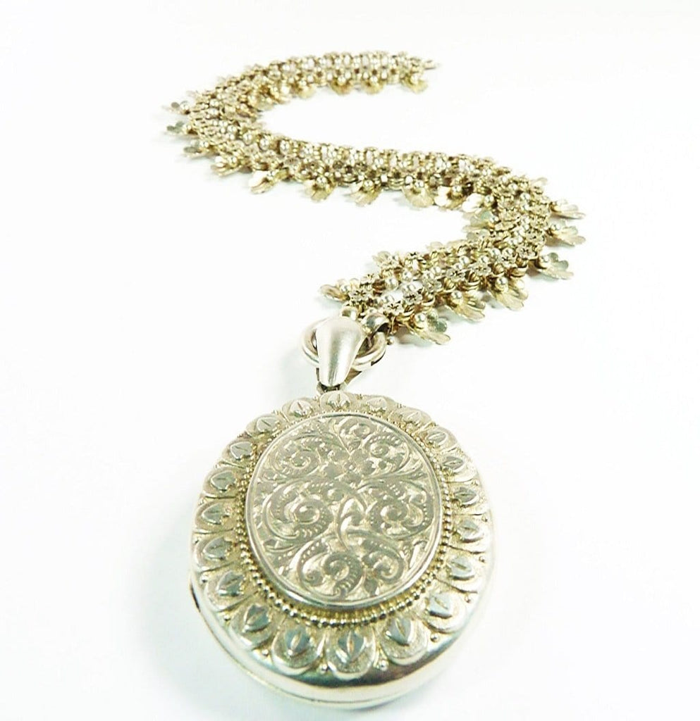 Antique Hallmarked Silver Locket