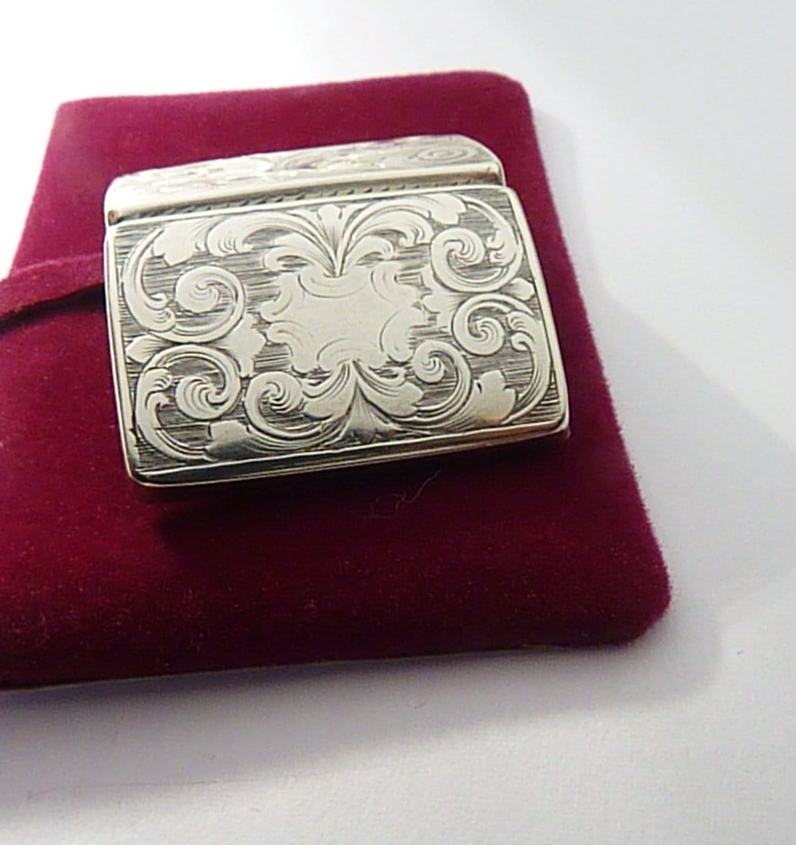 Antique Silver Vinaigrette Victorian