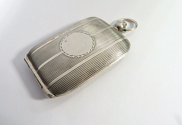 Antique Sterling Silver Locket Pendant