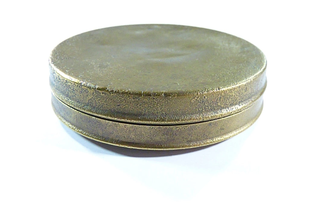 Antique Tin For Face Powder Deere
