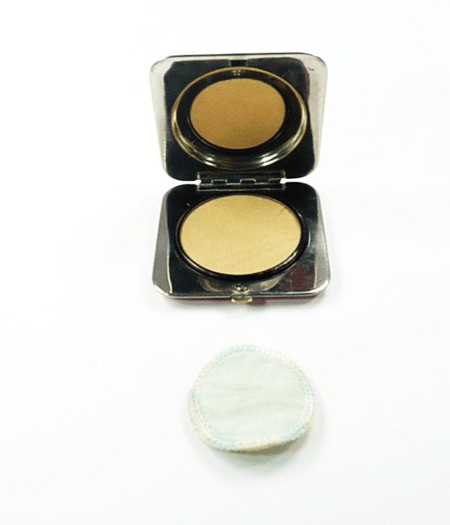 Art Deco Loose Powder Compact