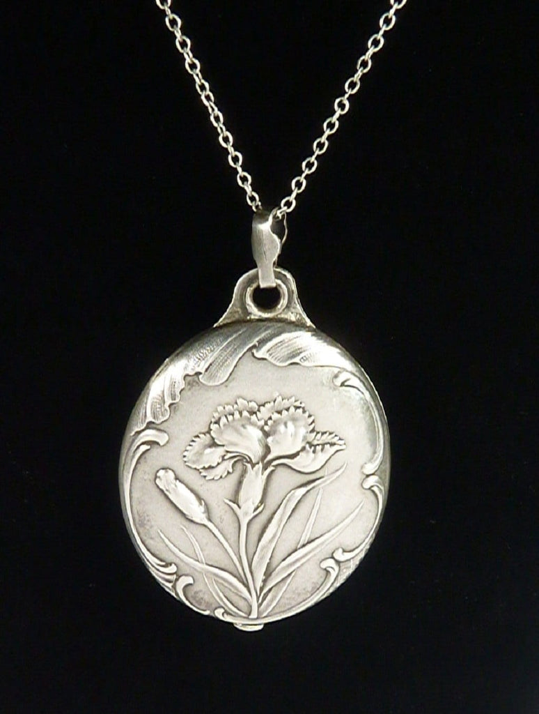 Art Nouveau Hallmarked Silver Locket