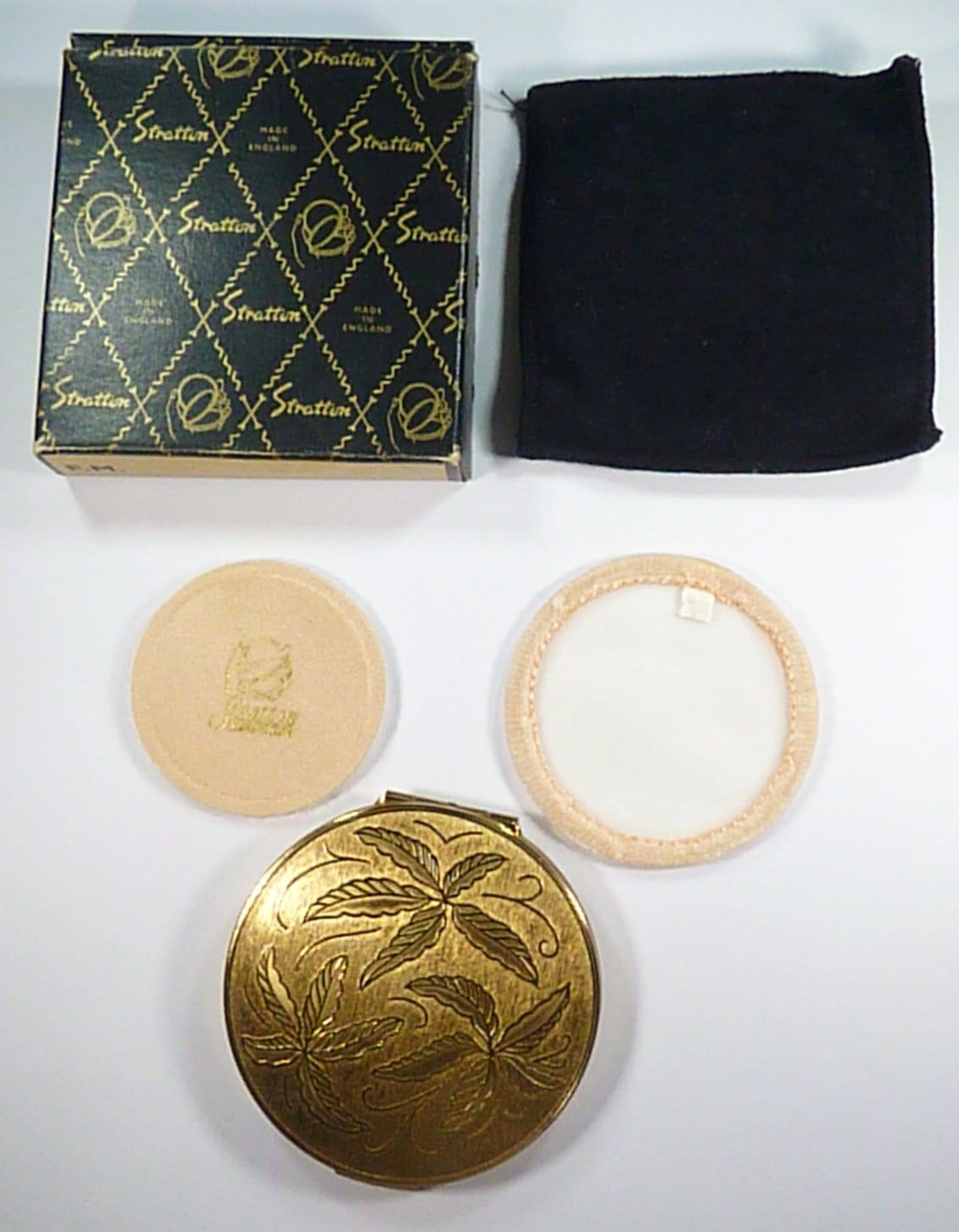 Boxed Unused Stratton Powder Compact