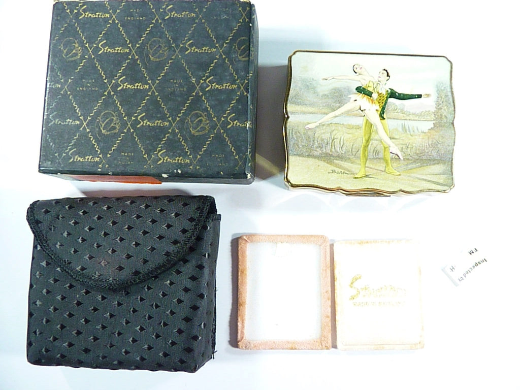 Boxed Vintage Musical Ballerina Box