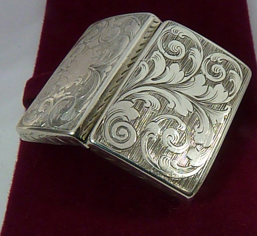 Bright Cut Silver Vinaigrette