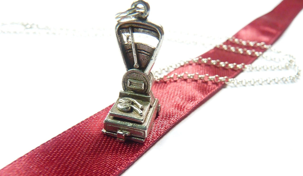 Butchers Scales Charm Necklace