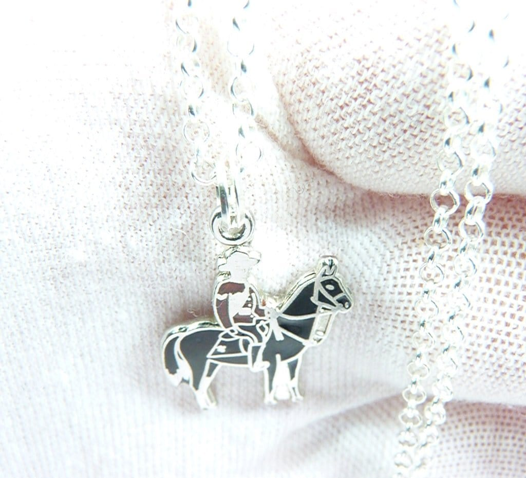 Canadian Mountie Necklace