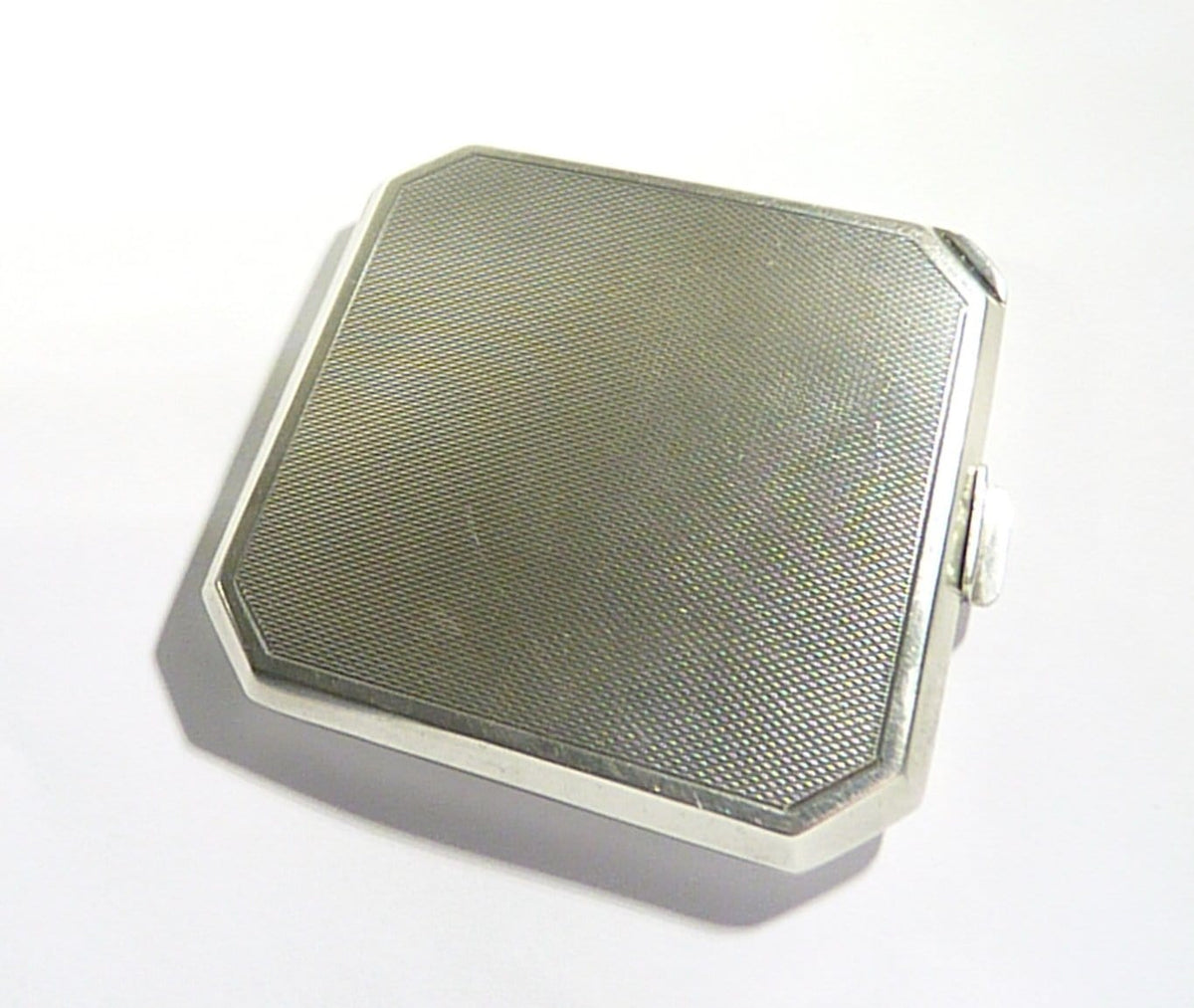 Chester Assayed Silver Compact Mirror