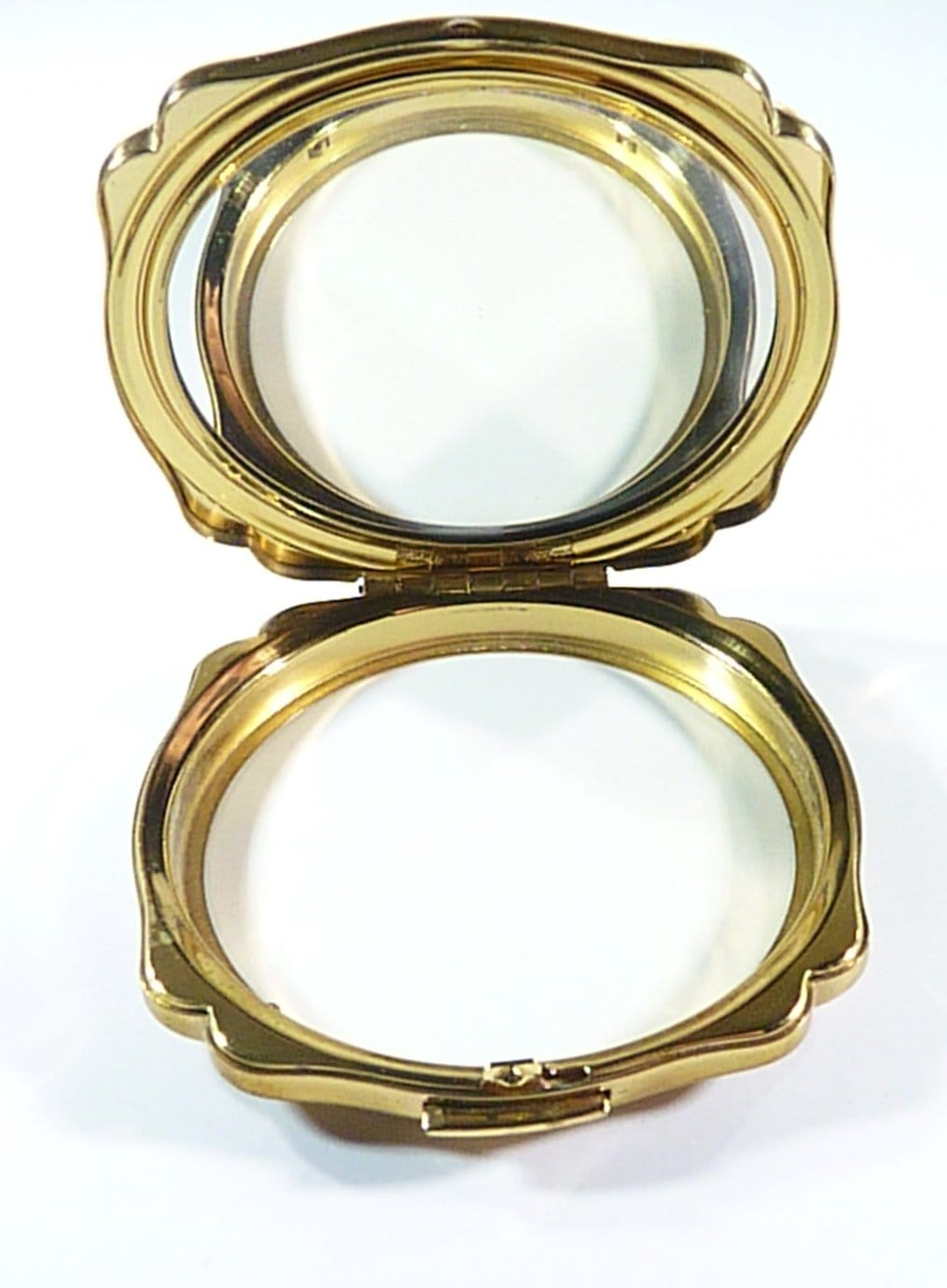 Compact Case With Mirror For Max Factor Creme Puff