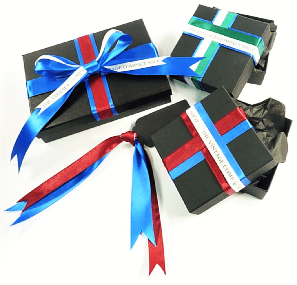 Luxury Gift Box With Silk Ribbons