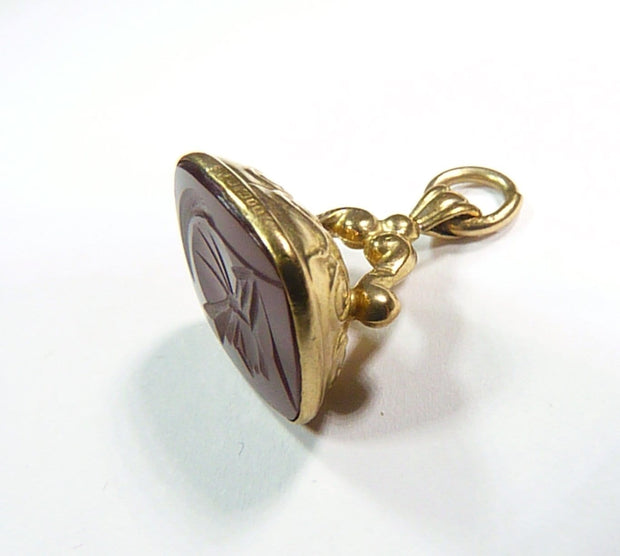 EDWARDIAN solid gold fully hallmarked fob