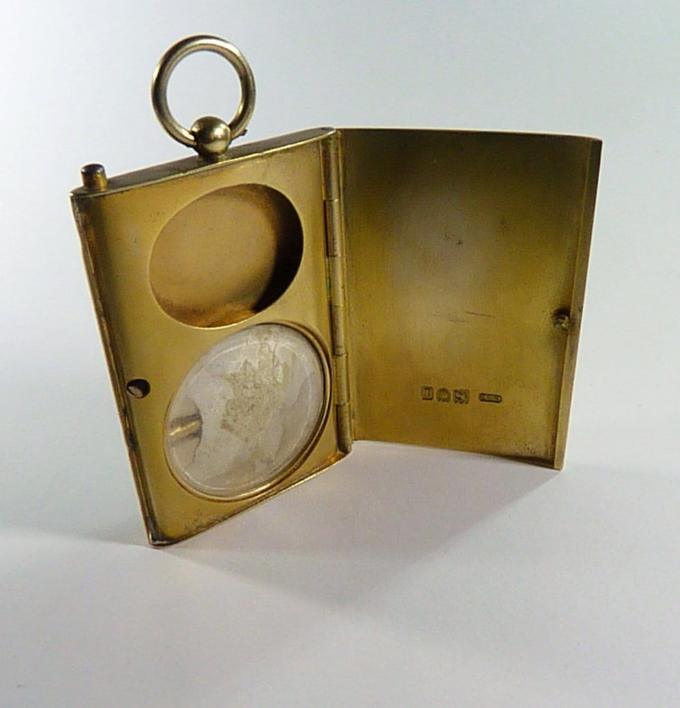 Edwardian Large Rectangular Locket