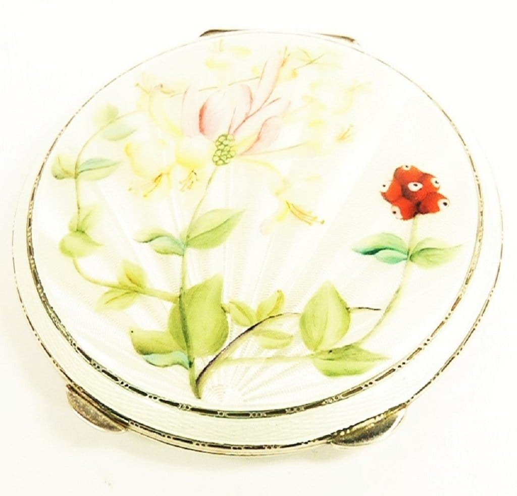 Garrard & Co Sterling Silver Compact Mirror