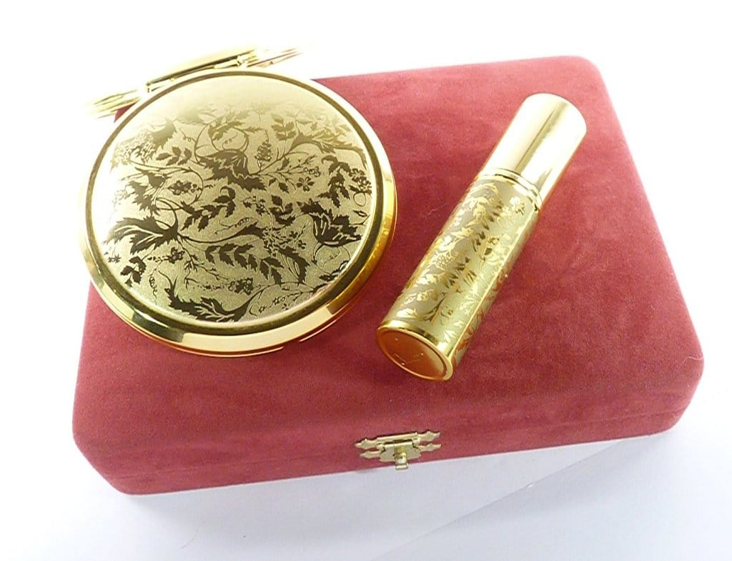 Gold Plated Stratton Vanity Set
