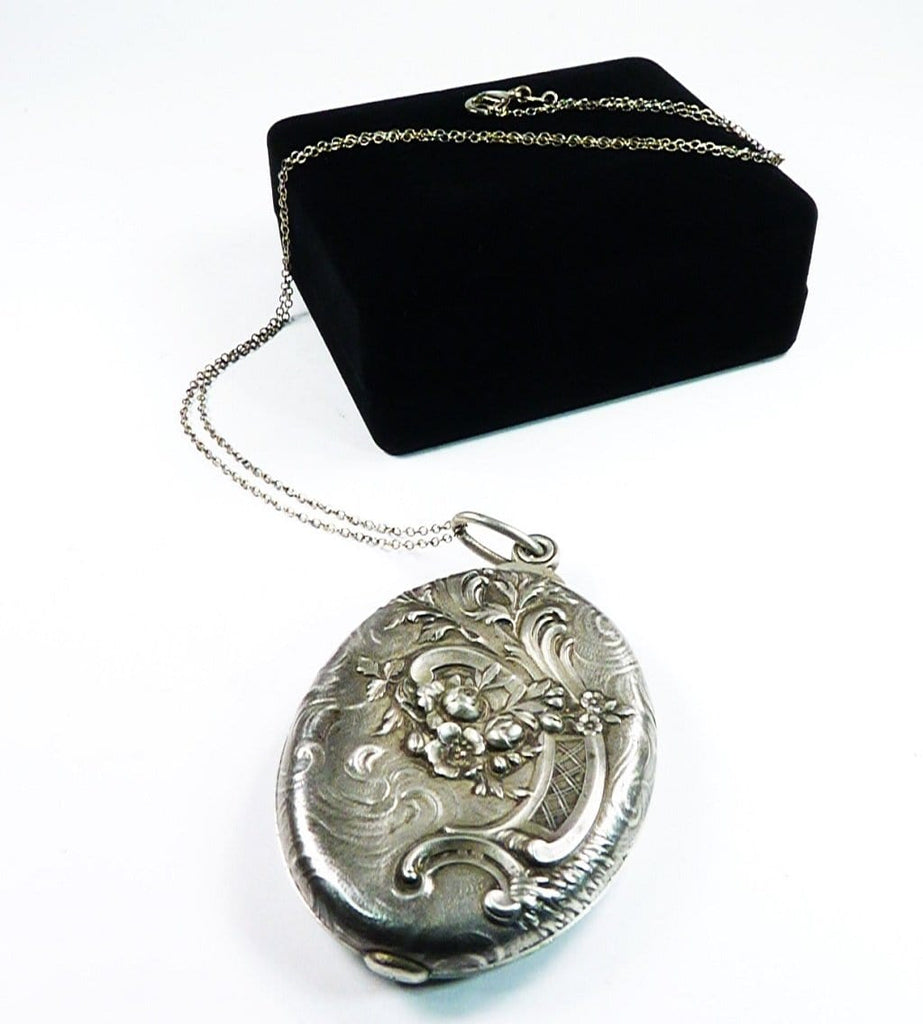 Hallmarked Antique Silver Locket