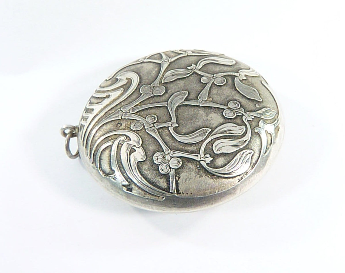 Hallmarked French Repoussage Locket