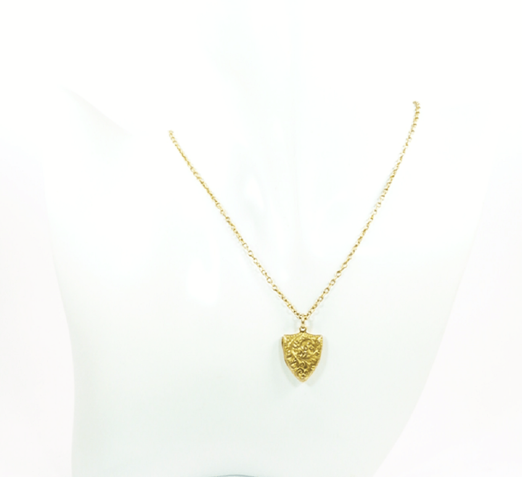 Hallmarked Gold Edwardian Locket And Chain