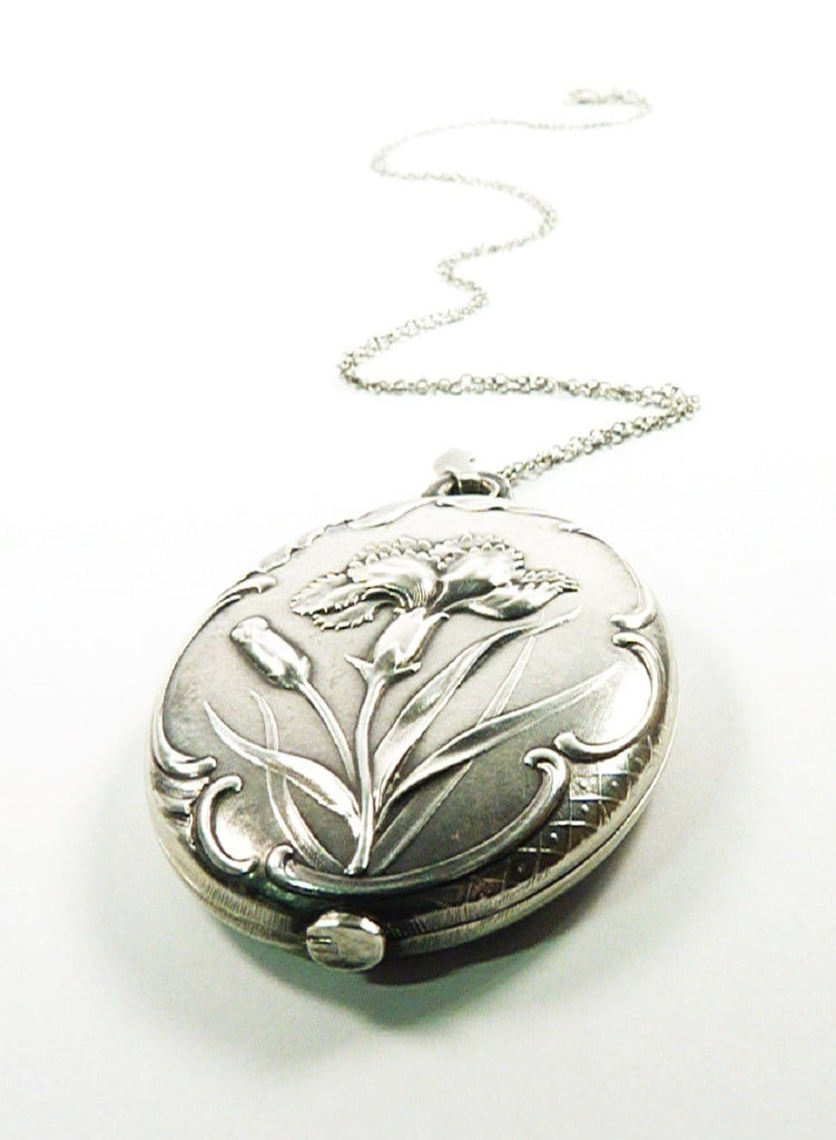 Hallmarked Silver Locket 1900s