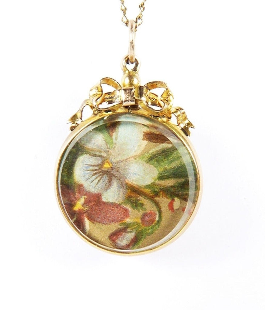 Hallmarked Yellow Gold Antique Locket