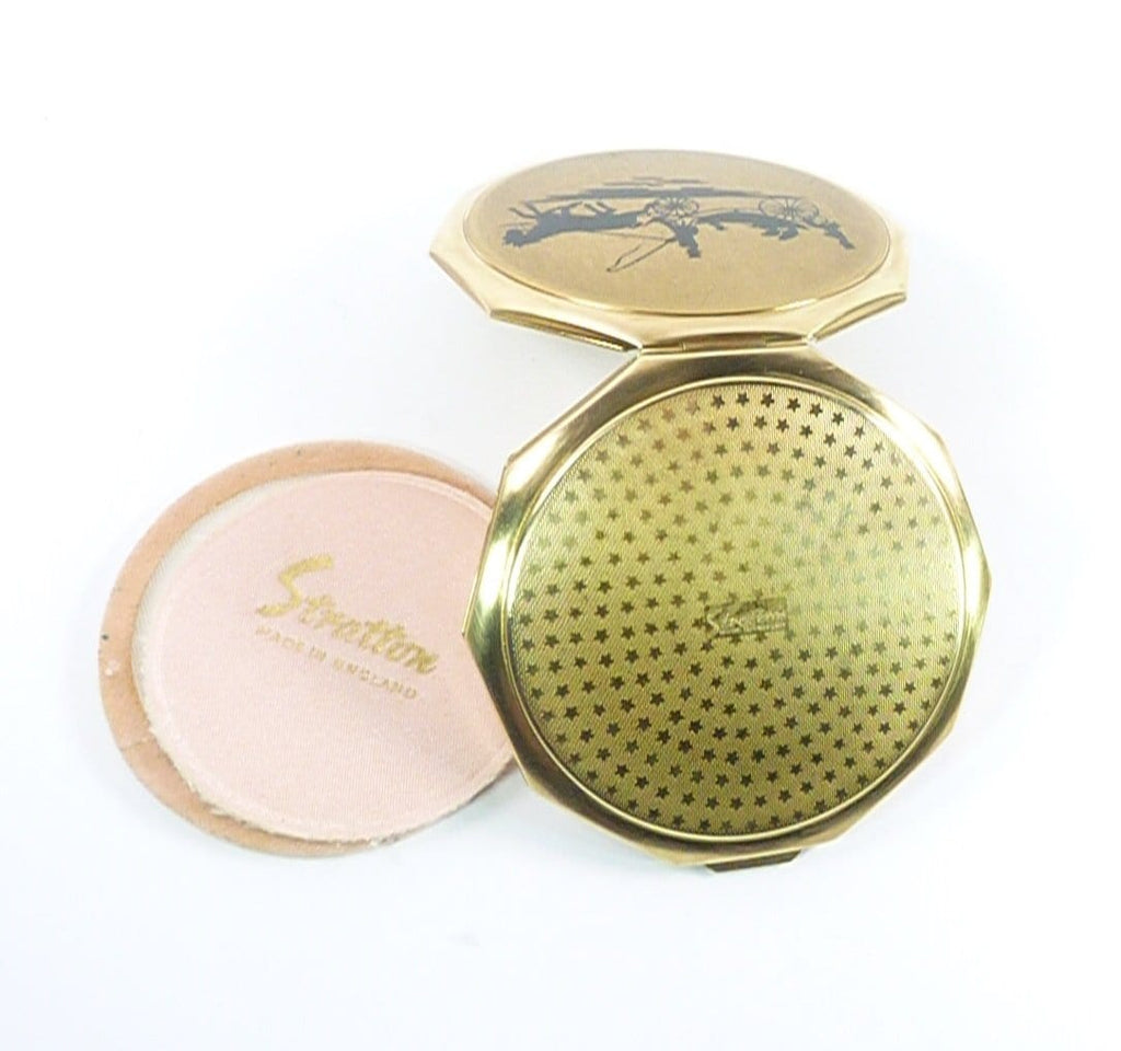 Horse And Carriage Stratton Compact Mirror