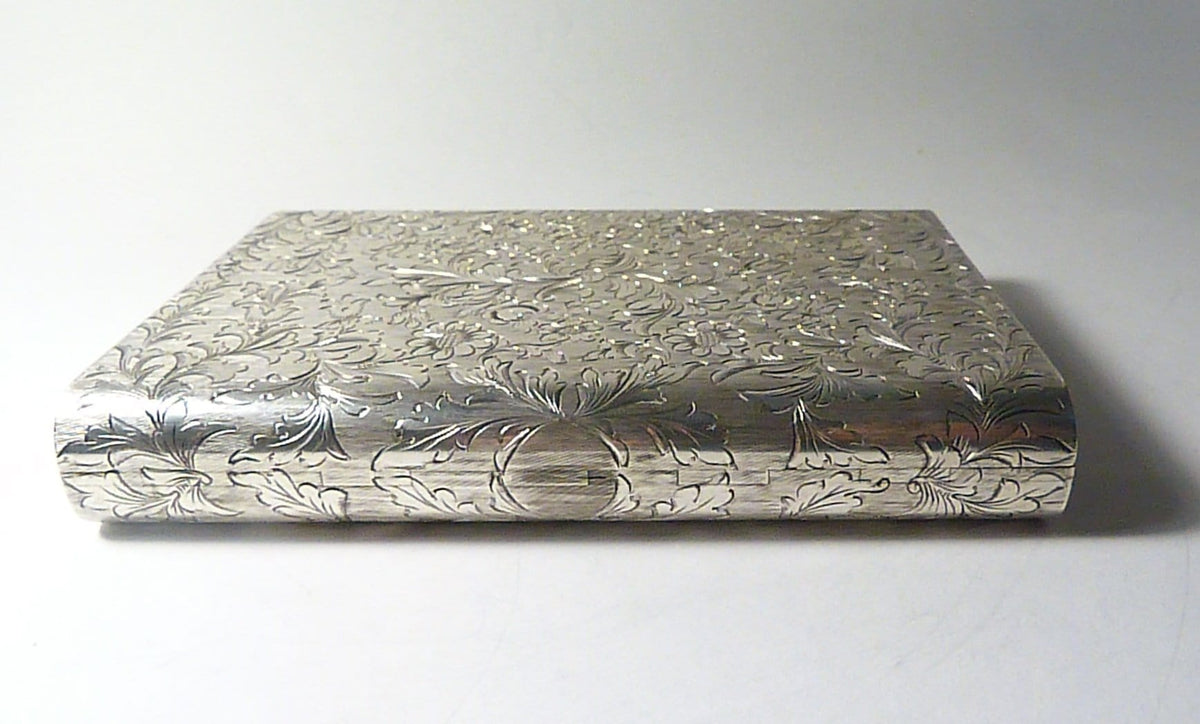 antique silver bridal clutch