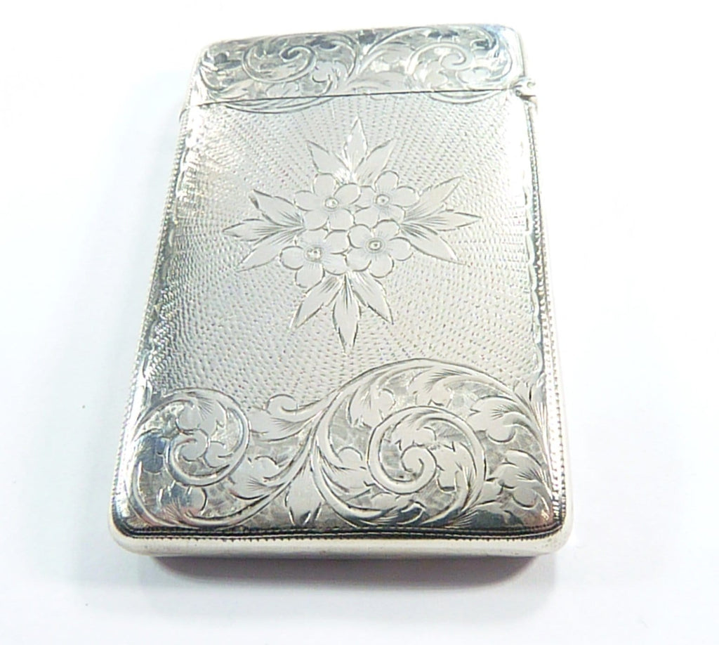 J Gloster Sterling Silver Card Case