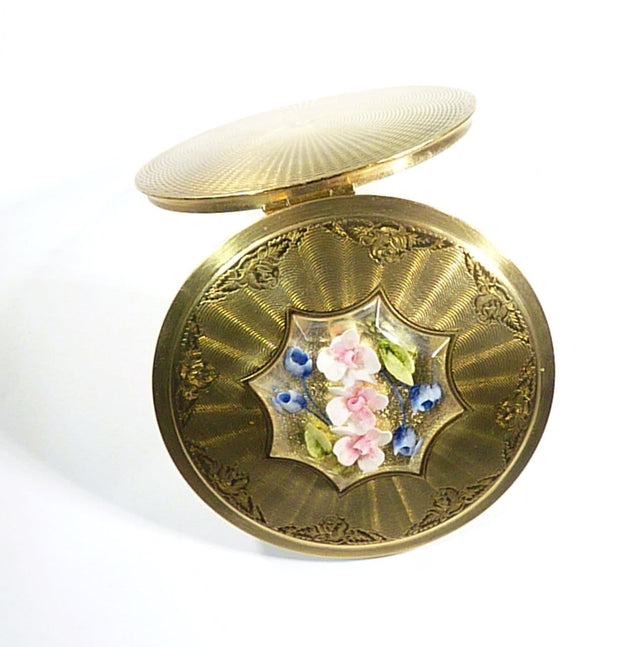 Lucite Compact Mirror