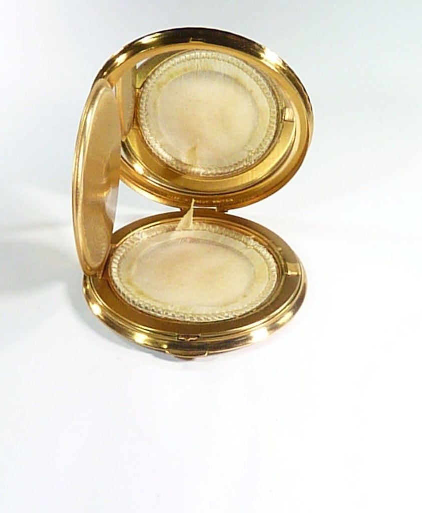Lucite Mascot Loose Powder Compact