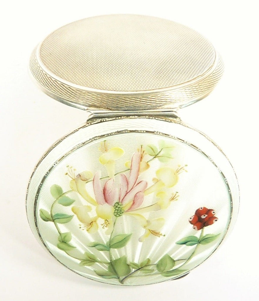Luxury Solid Silver Compact Mirror