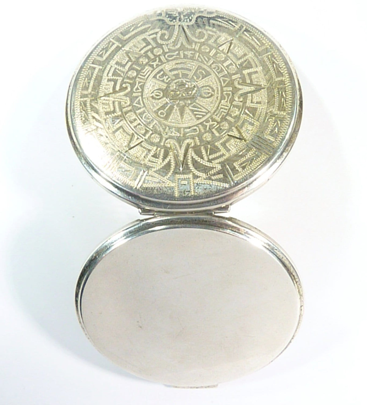 Mexican Silver Compact