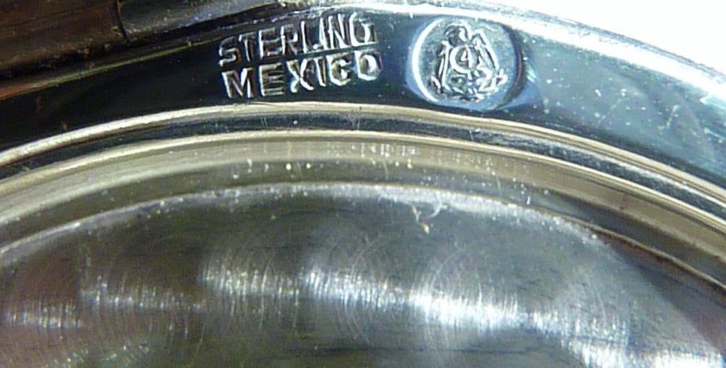 Mexican Sterling Compact Mirror