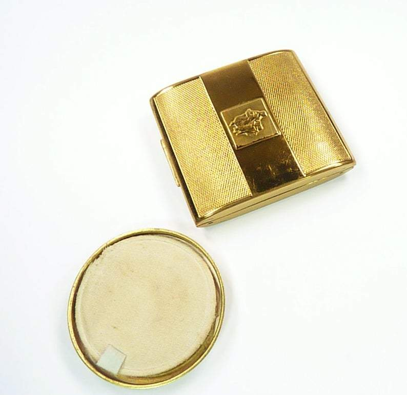 Old Small Yardley Powder Compact