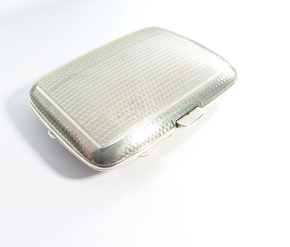 Rare Chester Assayed silver ladies combination case