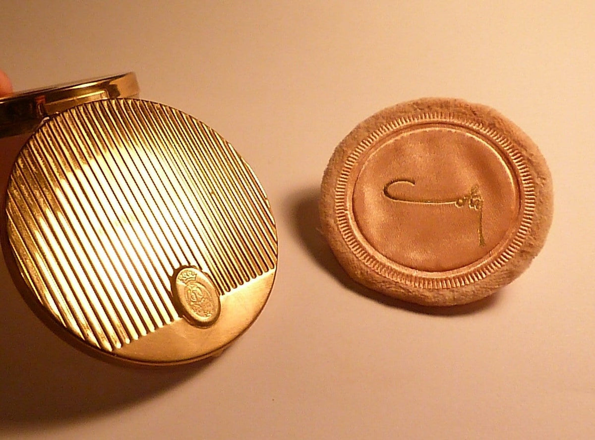 1950s Coty vintage powder compact book piece compact bridesmaids gifts pocket mirrors - The Vintage Compact Shop