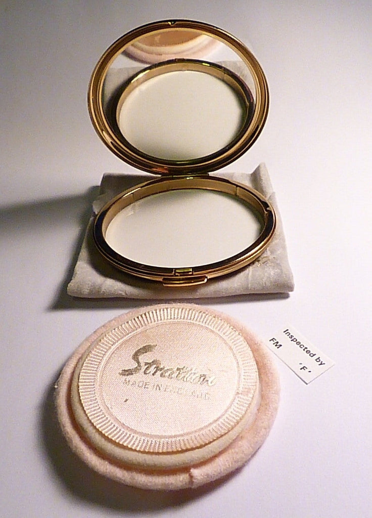 Vintage powder compacts unused compacts Stratton compact mirrors retro bridesmaids gifts - The Vintage Compact Shop