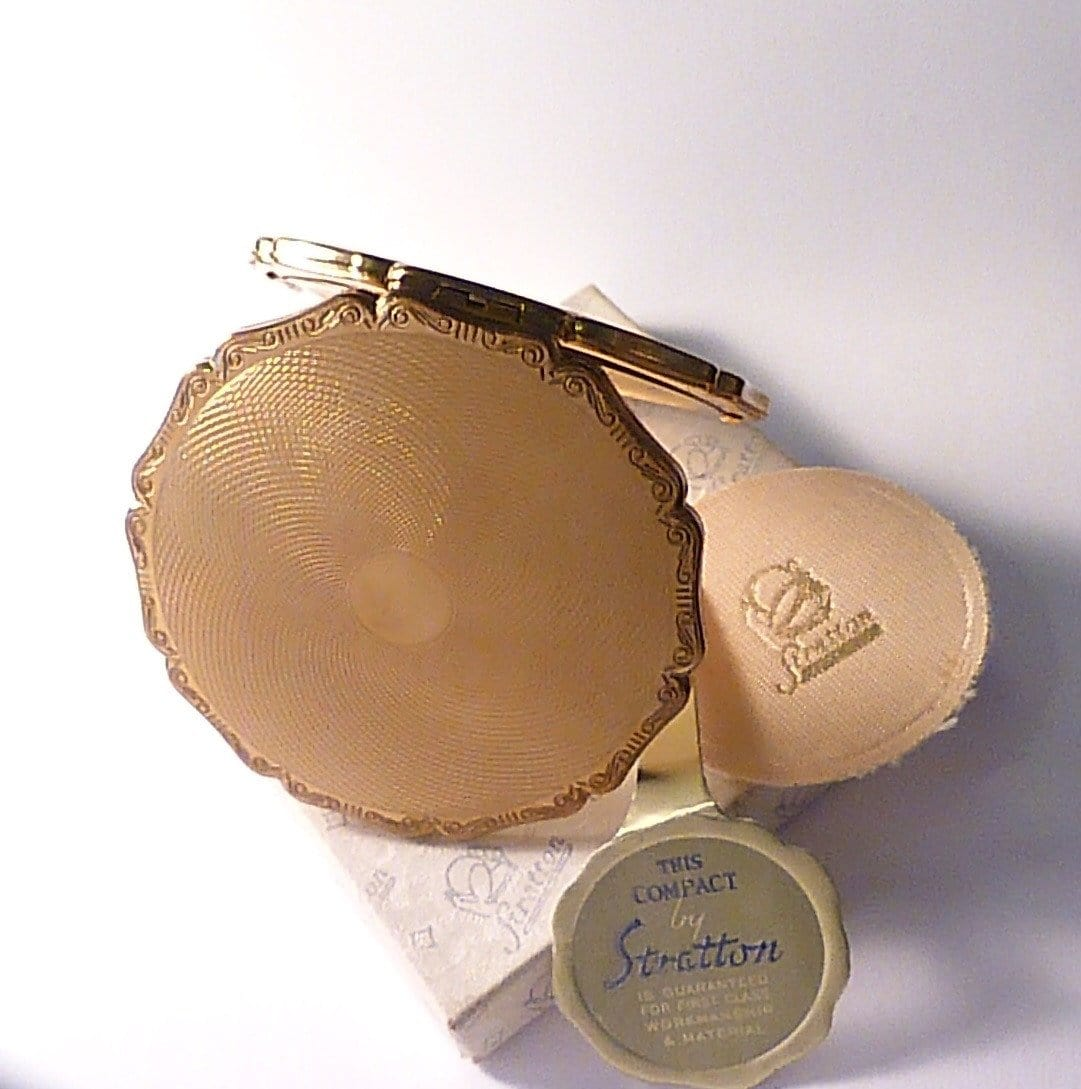 Boxed unused Stratton PRINCESS compact new old stock vintage compact mirrors