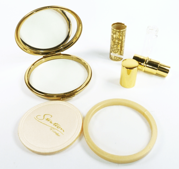 Perfume Atomizer And Powder Compact
