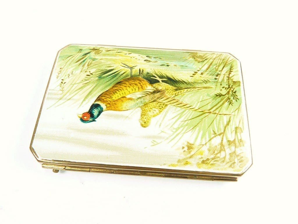 Pheasant Stratton Powder Compact
