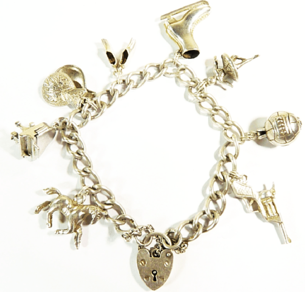 Vintage Bracelet with charms