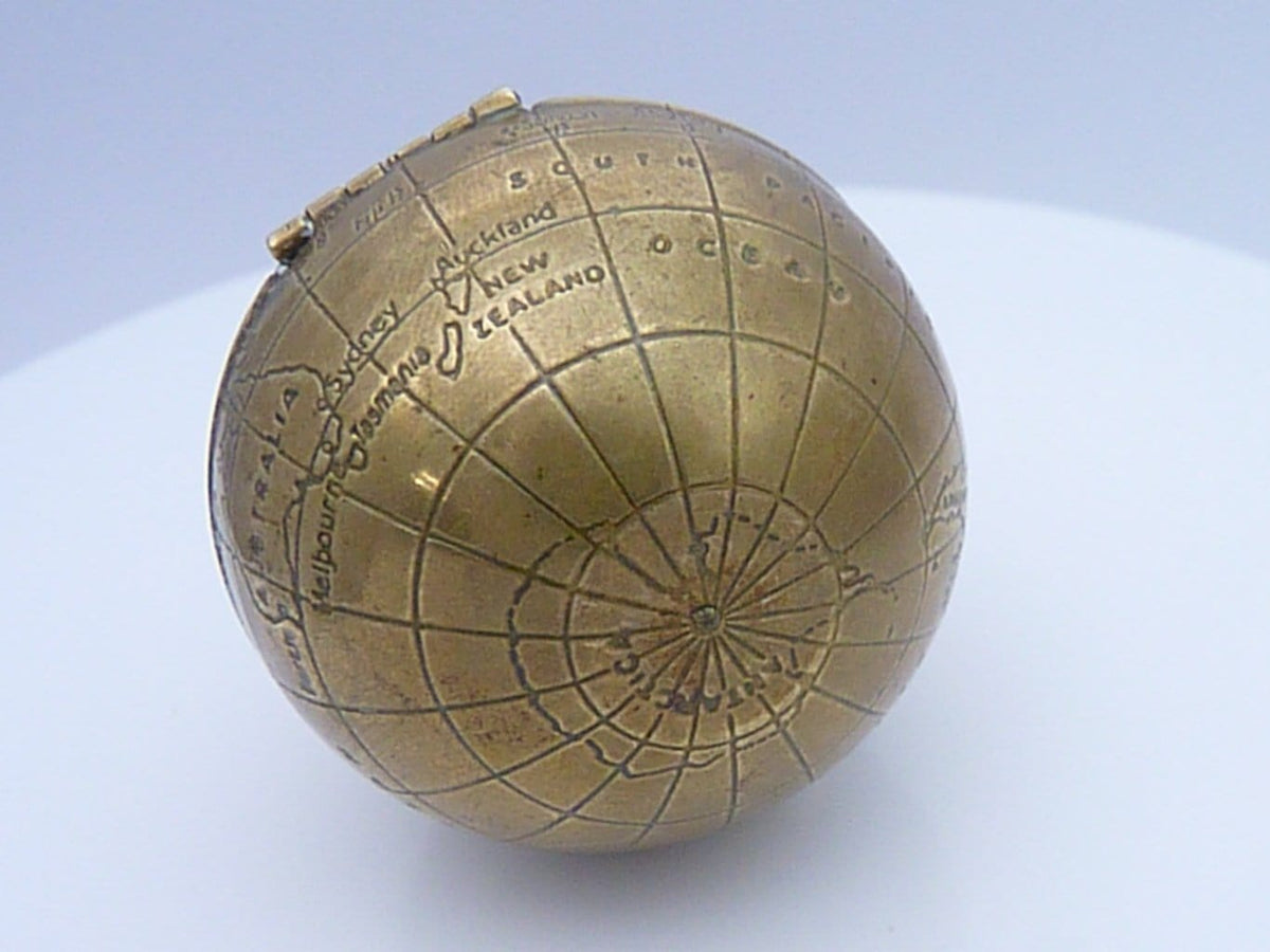 Powder Compact World Globe Film Props