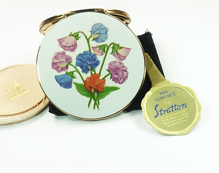 Pretty Flower Handbag Mirror