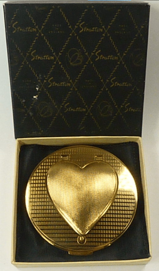 Rare Boxed 1950s Stratton Compact Mirror