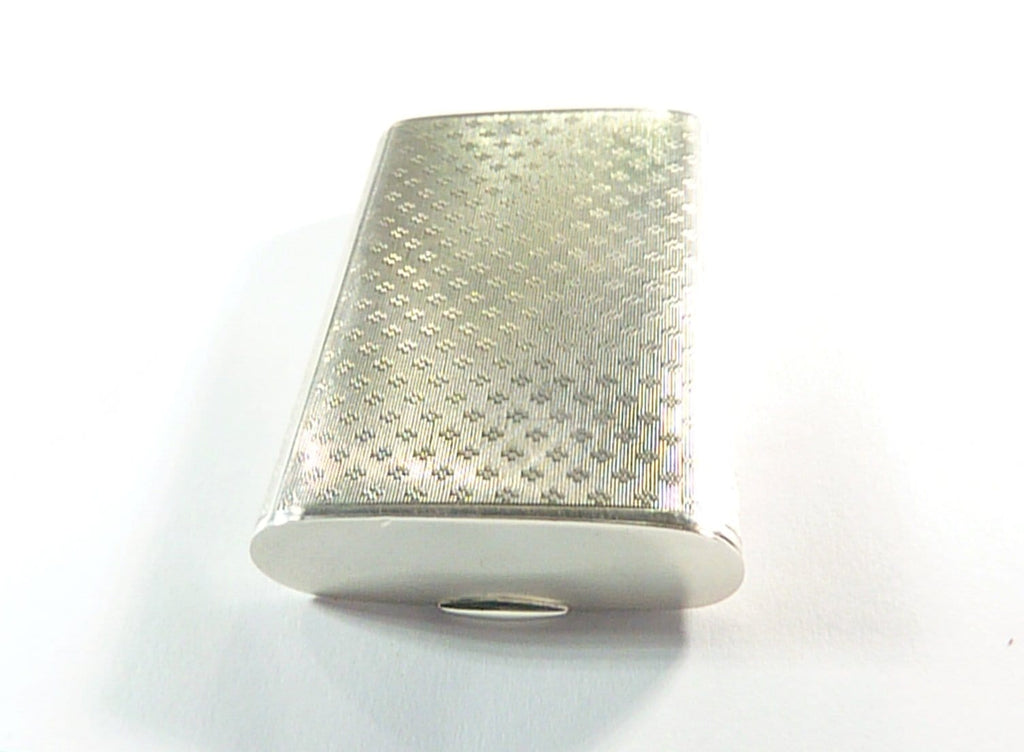 Rare Sterling Silver Match Box Compact Mirror