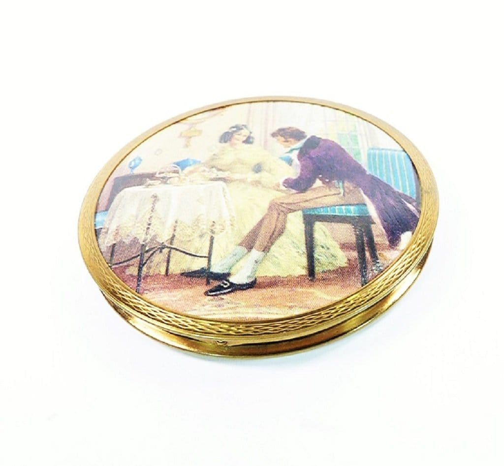 Rarest Stratton Vintage Powder Compact