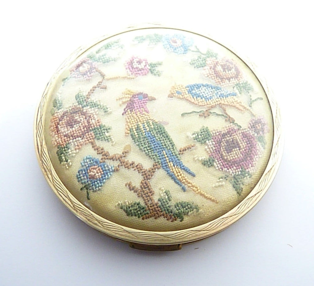 Refillable Loose Compact Case With Mirror